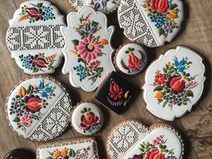 Не простой, а золотой имбирный пряник: 30 сладостей ручной работы венгерского пекаря-художника Judit Czinkne Poor. Ярмарка Мастеров - ручная работа, handmade.