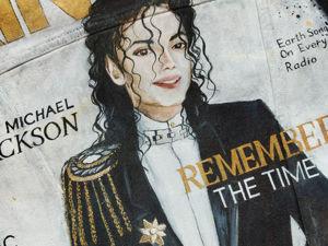 Куртка с Майклом Джексоном. Ярмарка Мастеров - ручная работа, handmade.