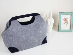 Шьем сумку с внутренним каркасом. Ярмарка Мастеров - ручная работа, handmade.