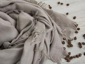 Только 3 дня -45% на кашемировые шали   «Осенние напевы». Ярмарка Мастеров - ручная работа, handmade.