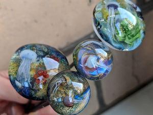 Море в стекле. Ярмарка Мастеров - ручная работа, handmade.