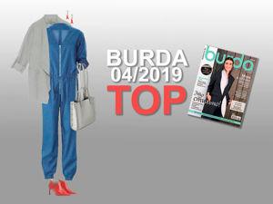 Комбинезон — хит сезона. Burda 04/2019. Ярмарка Мастеров - ручная работа, handmade.