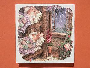 Творим вместе с детьми! Декупаж для малышей по мотивам сказочных миров Сьюзен Вилер. Ярмарка Мастеров - ручная работа, handmade.