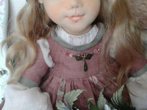 Скидка на куколку Элизу 50% до 11 марта. Ярмарка Мастеров - ручная работа, handmade.
