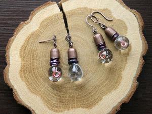 Серьги Лампочки в наличии. Ярмарка Мастеров - ручная работа, handmade.