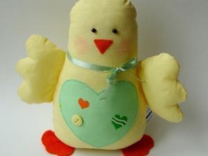 Шьем милого цыпленка на Пасху. Ярмарка Мастеров - ручная работа, handmade.