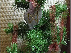 Делаем елочные украшения в скандинавском стиле. Ярмарка Мастеров - ручная работа, handmade.