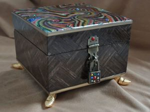 Декорирование шкатулки в стиле китч. Часть 3. Ярмарка Мастеров - ручная работа, handmade.