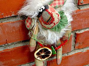 Шьем забавную овечку Моню. Ярмарка Мастеров - ручная работа, handmade.