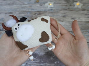 Шьем символ 2021 года — бычка. Ярмарка Мастеров - ручная работа, handmade.
