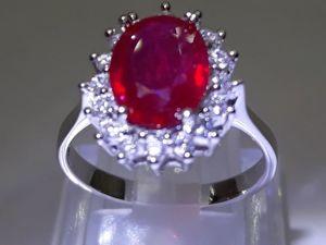 Кольцо с Натуральным Рубином  « Red Roses» . Ярмарка Мастеров - ручная работа, handmade.