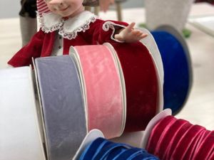 Шикарные бархатные ленты для тедди и кукол. Ярмарка Мастеров - ручная работа, handmade.