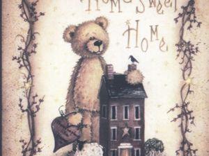 Акция Каждому дому  — по мишке и каждому мишке — по дому. Ярмарка Мастеров - ручная работа, handmade.