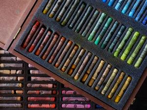 Обзор сухой пастели Sennelier. Ярмарка Мастеров - ручная работа, handmade.