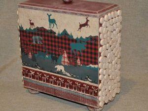 Декорируем шкатулку в стиле шале. Ярмарка Мастеров - ручная работа, handmade.