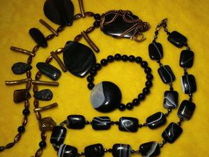 Скидки -20% на Всё. Колье-оберег с Природными камнями. Ярмарка Мастеров - ручная работа, handmade.