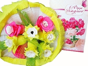 Каждый цветок вкусный, или История создания букетов из конфет. Ярмарка Мастеров - ручная работа, handmade.