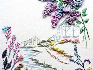 Великолепные дизайны бразильской вышивки (Brazilian embroidery) от Rozalie Wakefield. Ярмарка Мастеров - ручная работа, handmade.