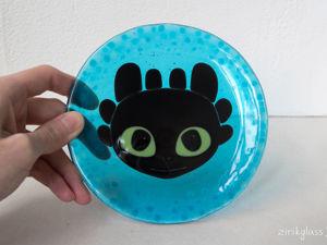Видео тарелки с Беззубиком. Ярмарка Мастеров - ручная работа, handmade.