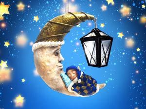 Мастерим елочную игрушку с подсветкой — «Сладкий сон». Ярмарка Мастеров - ручная работа, handmade.