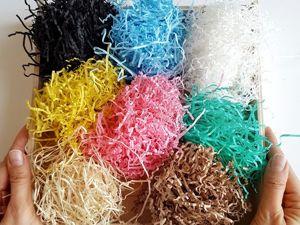Поступление наполнителей: бумажный наполнитель или древесная шерсть, что выбрать?. Ярмарка Мастеров - ручная работа, handmade.