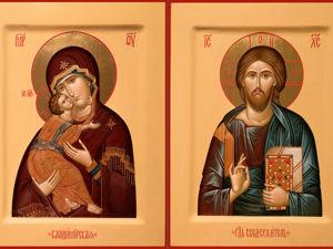 Технология создания православной иконы. Ярмарка Мастеров - ручная работа, handmade.