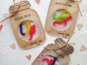 Валентинки на раз-два-три: готовим оригинальные подарки ко Дню всех влюбленных. Ярмарка Мастеров - ручная работа, handmade.