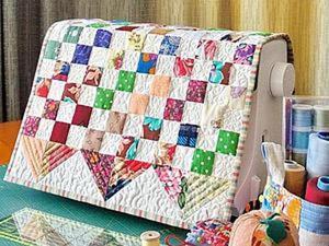 Шьем два в одном: мини-панно и накидка на швейную машинку. Ярмарка Мастеров - ручная работа, handmade.