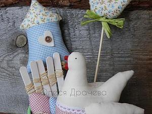 Простые идеи для Пасхи. Часть четвертая: забор, яйца и птички. Ярмарка Мастеров - ручная работа, handmade.