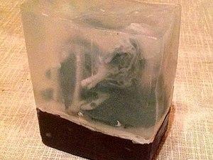 """Подарочное мыло ручной работы """"Елки в снегу"""". Ярмарка Мастеров - ручная работа, handmade."""