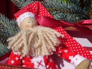 Мастерим тильду «Дед Мороз» своими руками. Ярмарка Мастеров - ручная работа, handmade.