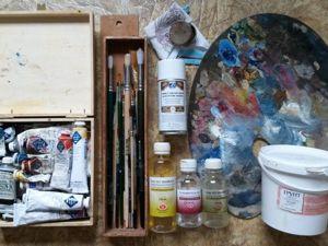 Как ухаживать за инструментами для масляной живописи. Ярмарка Мастеров - ручная работа, handmade.