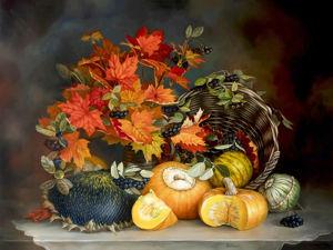Успех моей работы  «Натюрморт с кленовыми листьями»  на международном конкурсе. Ярмарка Мастеров - ручная работа, handmade.