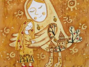 Под крылом Птицы Счастья. Ярмарка Мастеров - ручная работа, handmade.