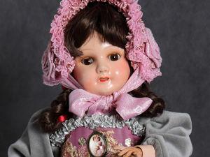 Антикварная французская кукла Козетта. Ярмарка Мастеров - ручная работа, handmade.