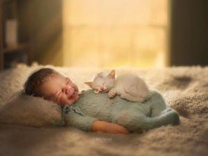Осторожно, жесткое ми-ми-ми! Младенцы и пушистики Суяты Сетия. Ярмарка Мастеров - ручная работа, handmade.