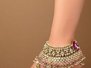 Браслет на ногу: зачем и как его носить. Ярмарка Мастеров - ручная работа, handmade.