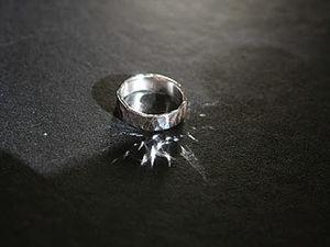 Создаем сами серебряные колечки. Ярмарка Мастеров - ручная работа, handmade.