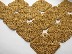 Платок из шерсти ягненка мериноса в процессе. Ярмарка Мастеров - ручная работа, handmade.