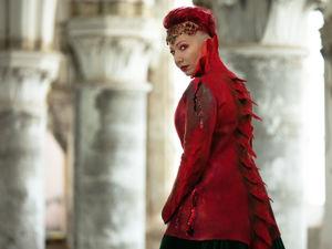 Пальто  «Королева драконов». Ярмарка Мастеров - ручная работа, handmade.