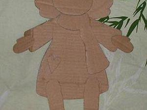 Ангел, папье-маше, часть 1. Ярмарка Мастеров - ручная работа, handmade.