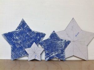 Как сделать шаблон звезды за 10 минут. Ярмарка Мастеров - ручная работа, handmade.