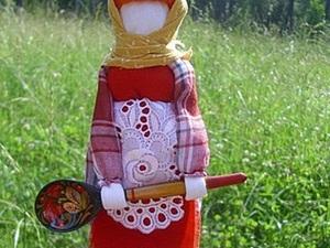 Мастер-класс: кукла «Помощница на кухне» своими руками. Ярмарка Мастеров - ручная работа, handmade.