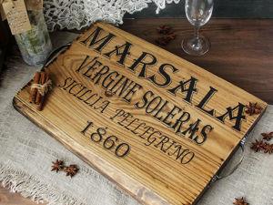 Снова доступен поднос из карагача. Ярмарка Мастеров - ручная работа, handmade.