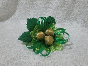 """Делаем резиночку для волос """"Три орешка для Золушки"""". Ярмарка Мастеров - ручная работа, handmade."""