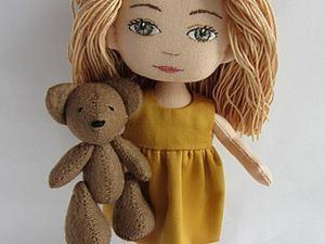 Мастер-класс для девочек: шьем платье для куклы. Ярмарка Мастеров - ручная работа, handmade.