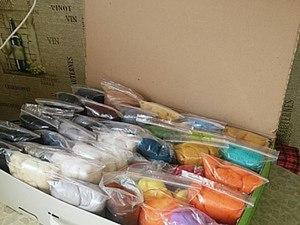 Идея для хранения шерсти: удобно и бюджетно. Ярмарка Мастеров - ручная работа, handmade.