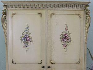 Изготовление полок для винтажного шкафа. Ярмарка Мастеров - ручная работа, handmade.