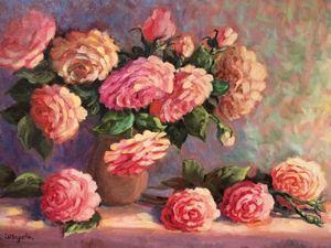 Они цветут в морозы... 20% Скидка на картины Цветов!. Ярмарка Мастеров - ручная работа, handmade.