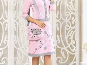 Аукцион на Очаровательное вязаное платье! Старт 3500 р.!. Ярмарка Мастеров - ручная работа, handmade.